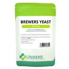 Lindens Brewers Yeast; 500 Tablets; 300mg