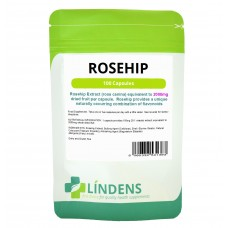 Lindens Rosehip, 100 Capsules; 2000mg; (rose hip tablets)